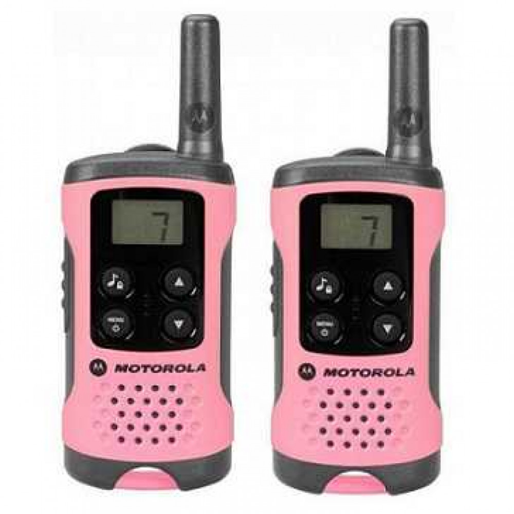 Рация Motorola TLKR T41 Pink